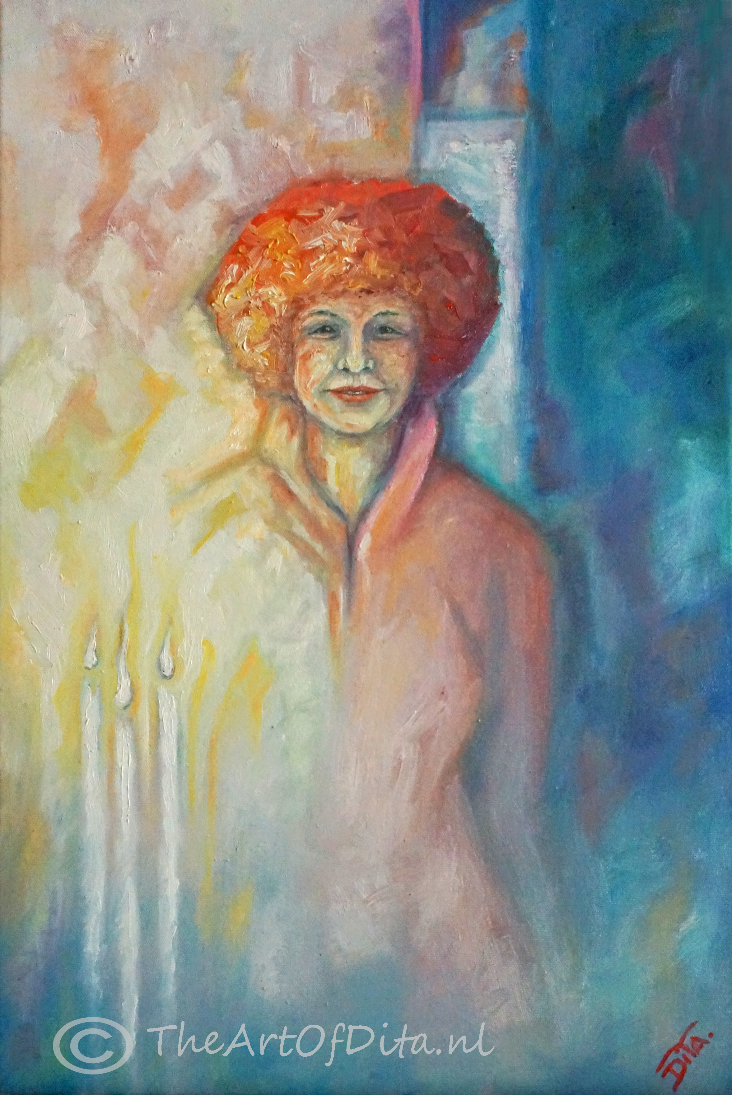 Oil on canvas, 60-40 cm.